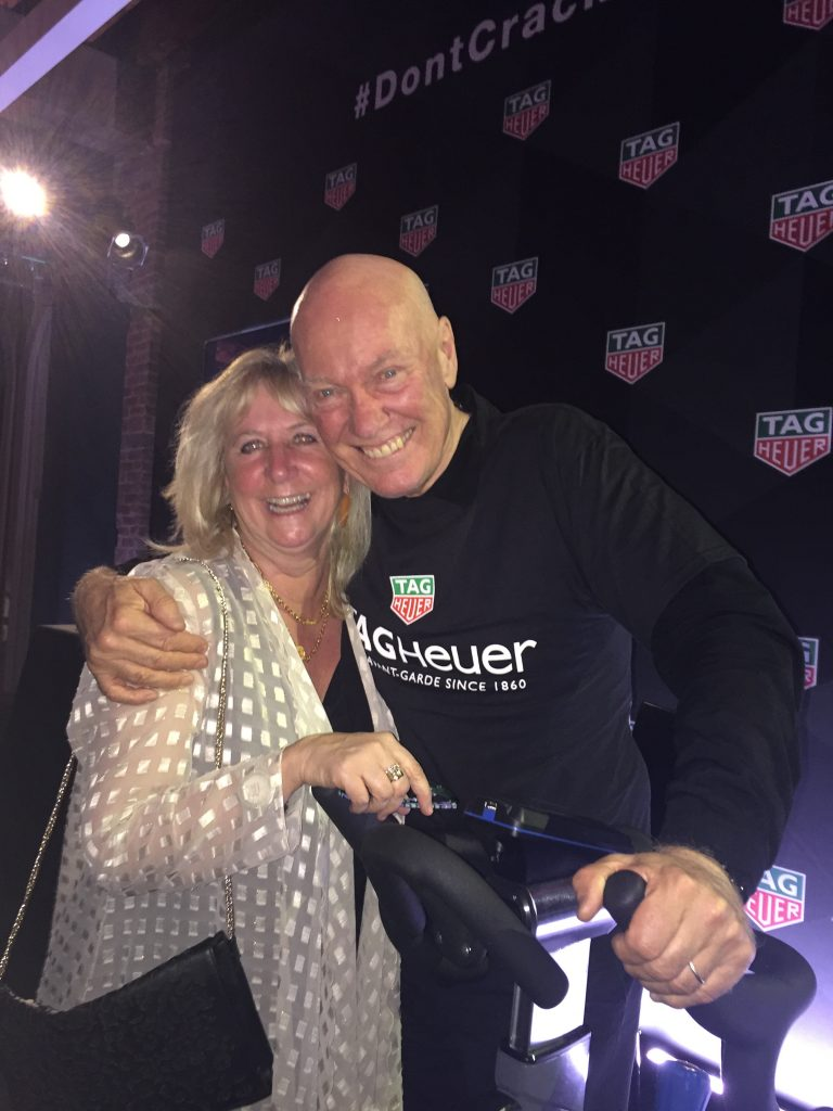 Jean-Claude Biver with Roberta Naas