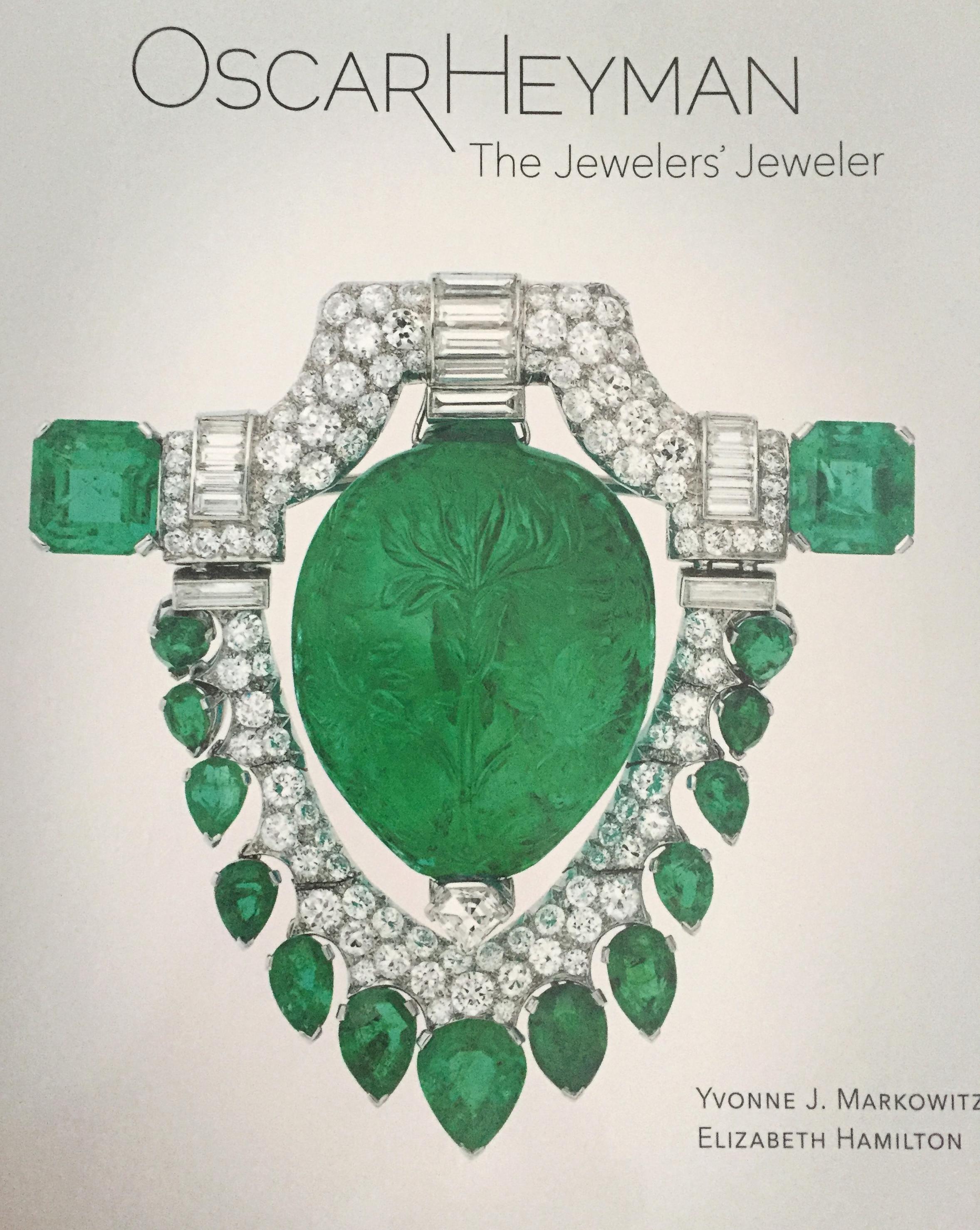 Oscar Heyman, The Jeweler's Jeweler book