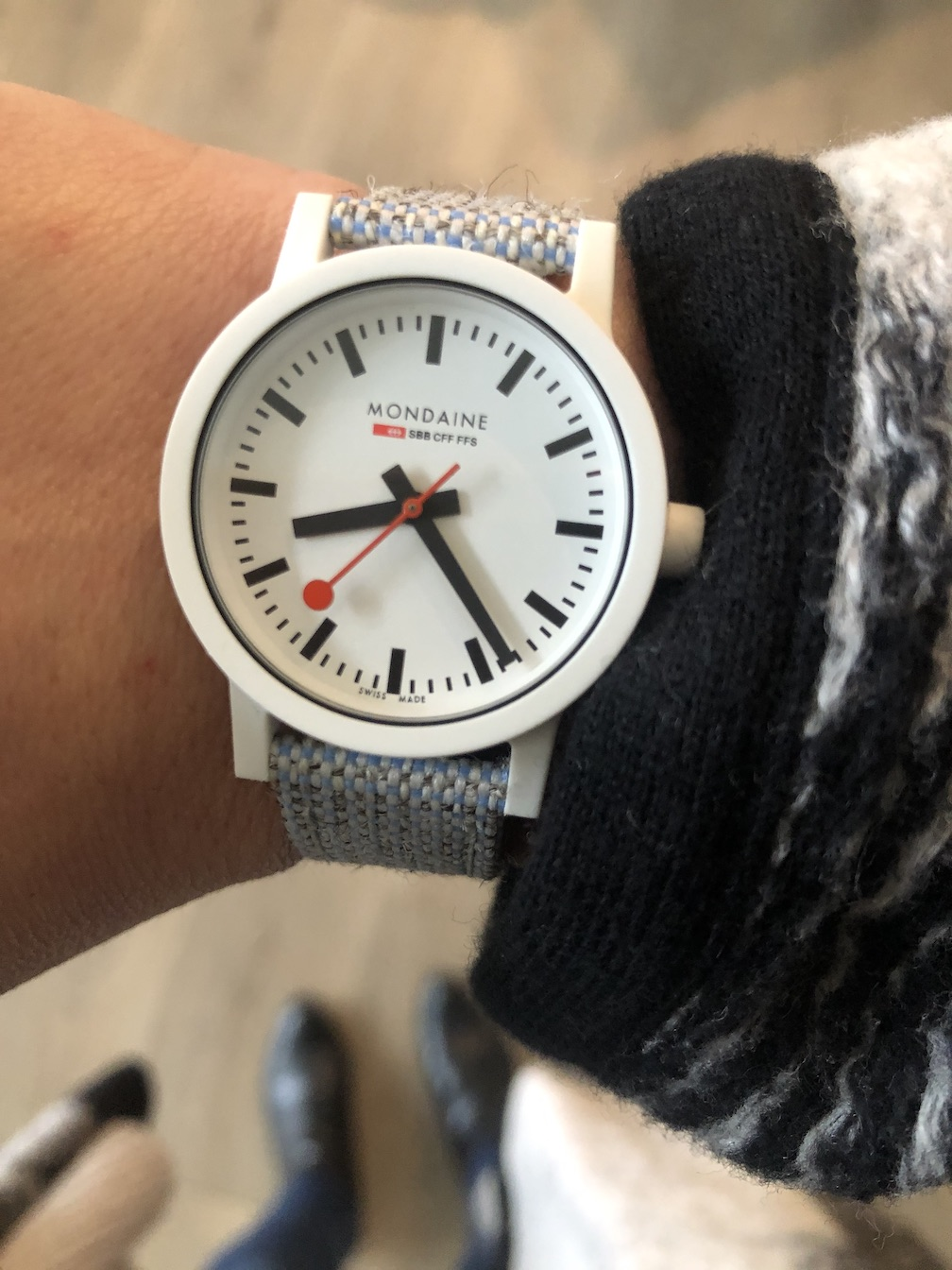 Mondaine sustainable Essence watch
