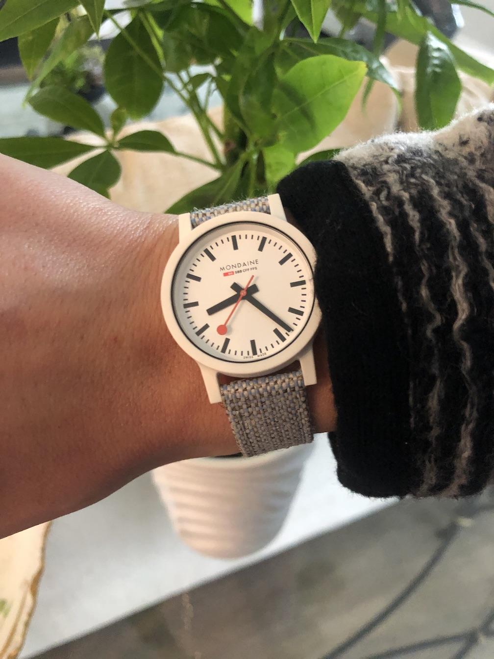 Mondaine sustainable Essence watch