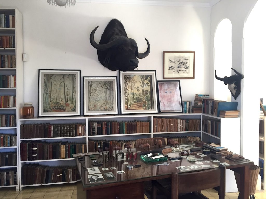 Finca Vigia in Cuba is Ernest Hemingway's Havana home, a museum today.