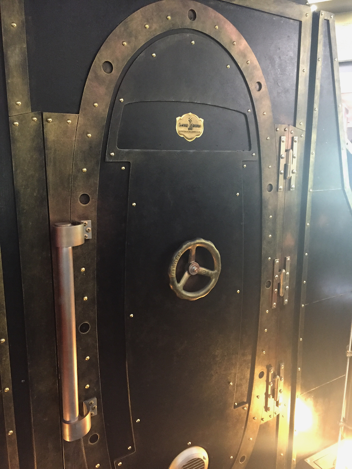The doorway to the Louis Moinet Time Machine at Baselworld 2017.