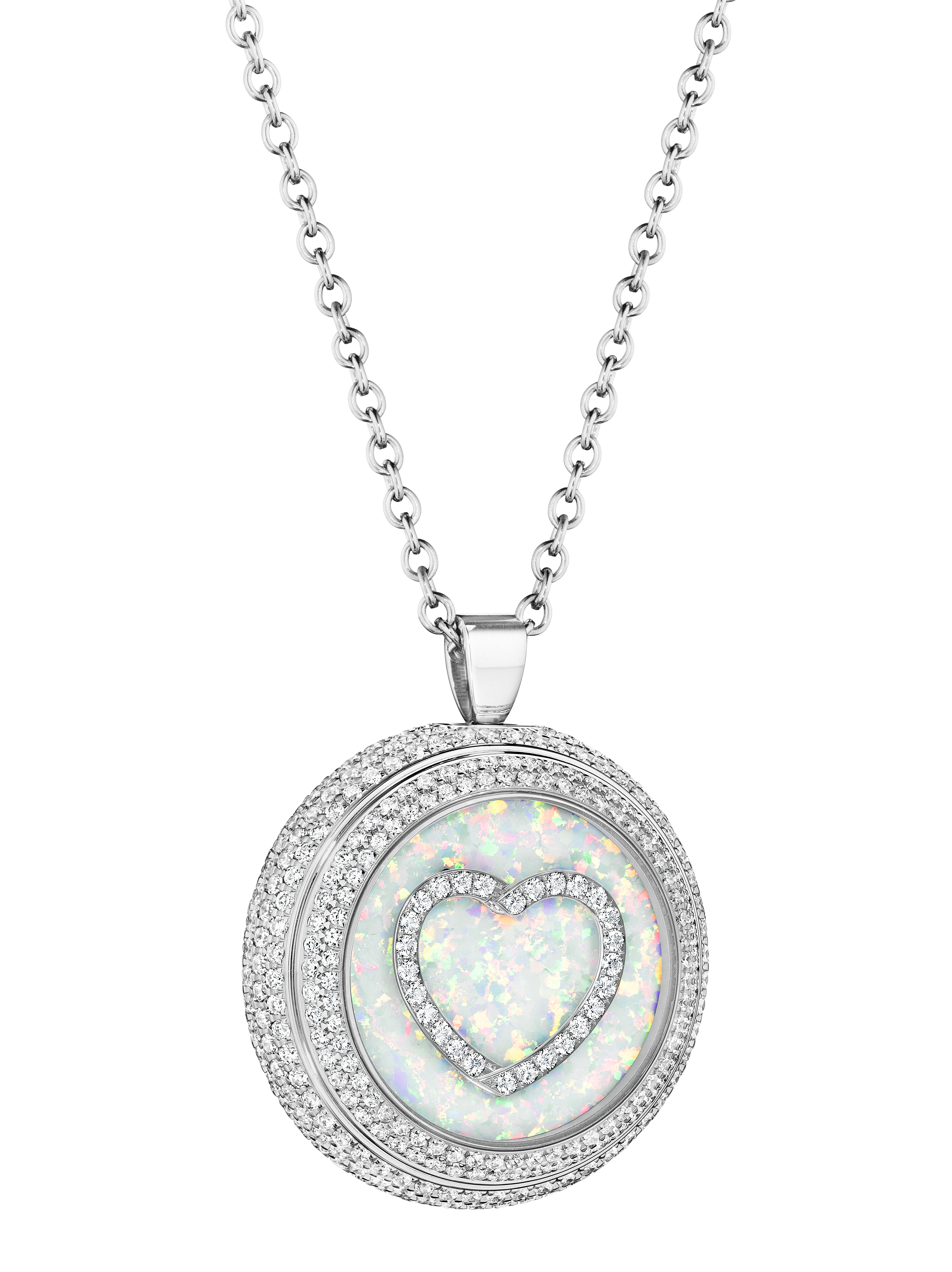 Each Heart's Passion watch is crafted of the finest materials, including precious stones and diamonds.