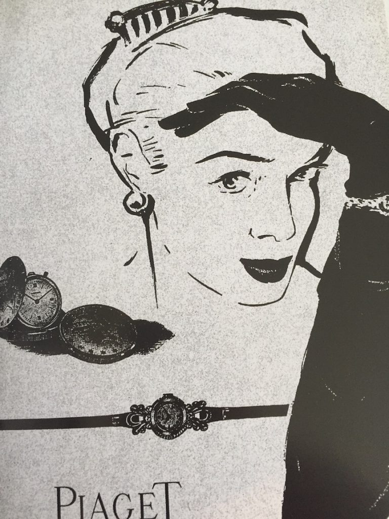 In the 1950's, thanks to Valentin Piaget, Piaget advanced its work in developing slim jewelry watches for women.
