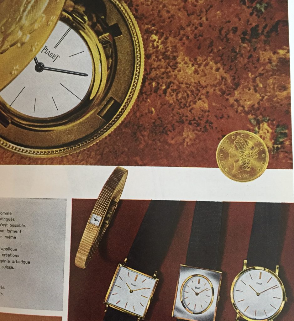 The creation of the ultra-slim movements by Piaget enabled Valentin Piaget to develop a range of slim watches.
