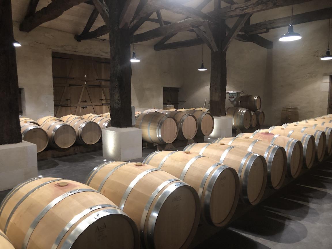 Chateau Le Monestier La Tour winery in Bordeaux.