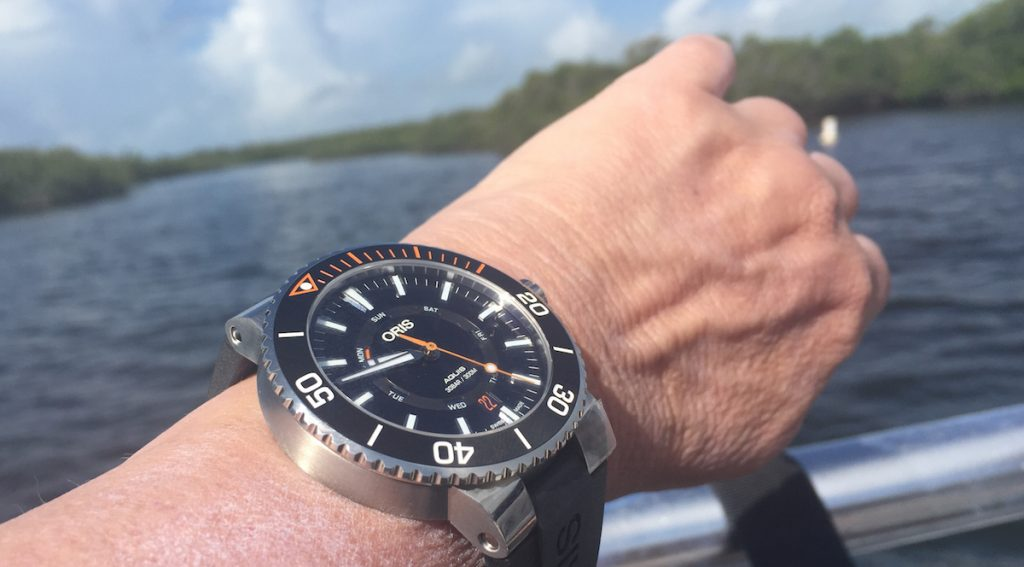 Oris Staghorn Restoration Limited Edition dive watch (photo: R. Naas)
