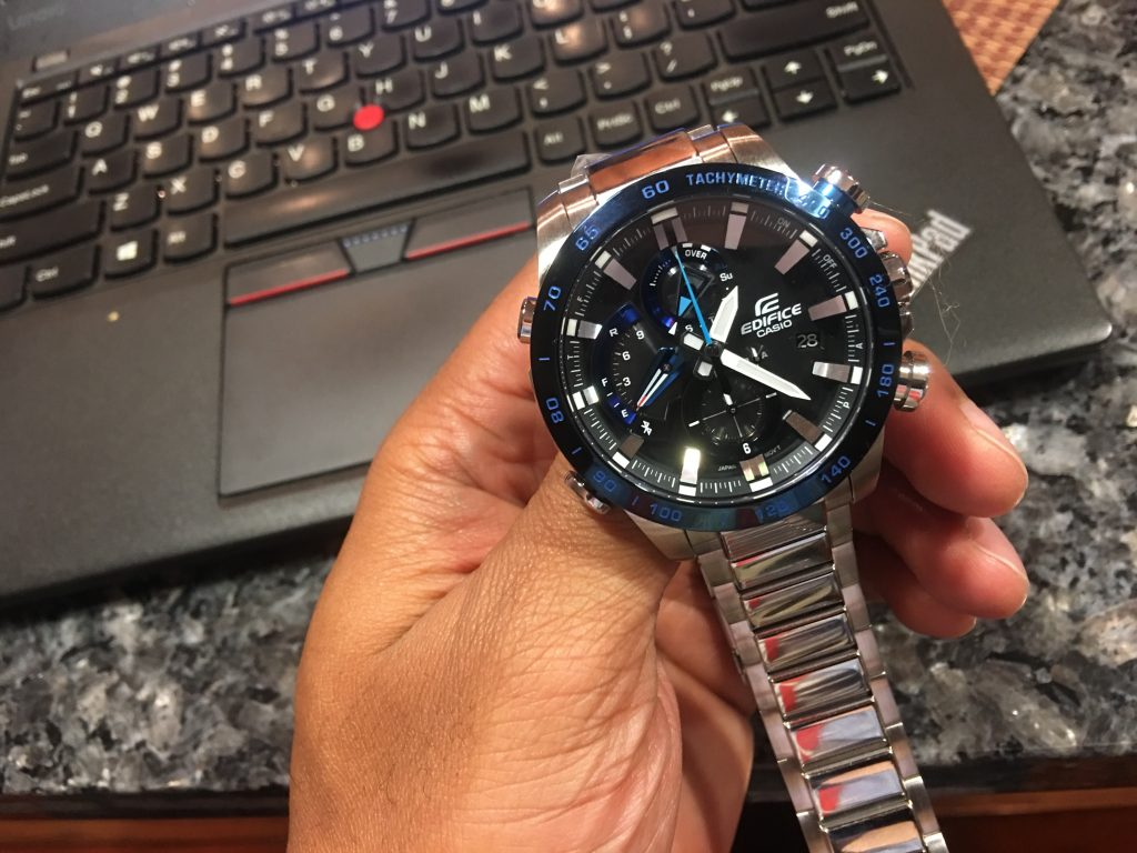 The new Casio Edifice Smart watch