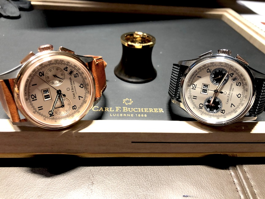Carl F. Bucherer Heritage BiCompax Annual Calendar as unveiled at Baselworld 2019.