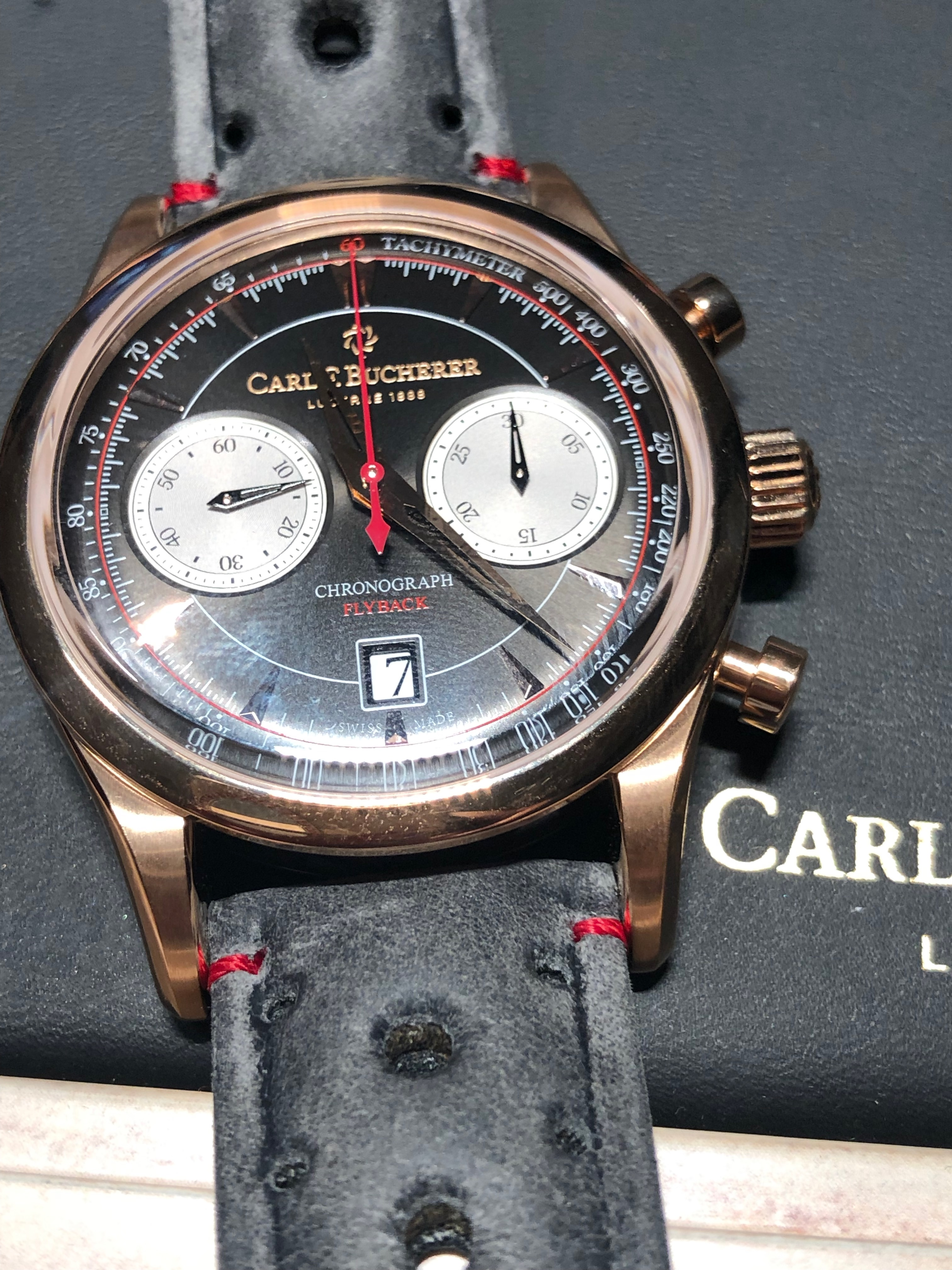 carl f bucherer manero