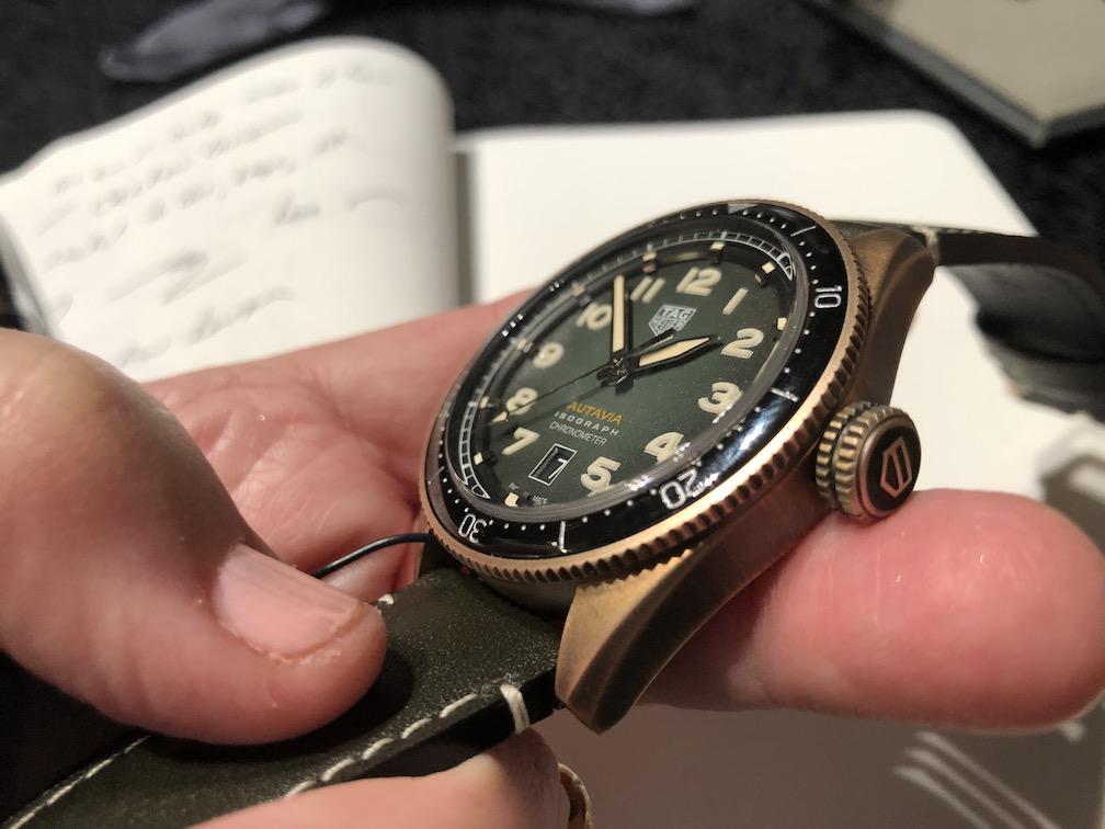 TAG Heuer Autavia re-invented at Baselworld 2019