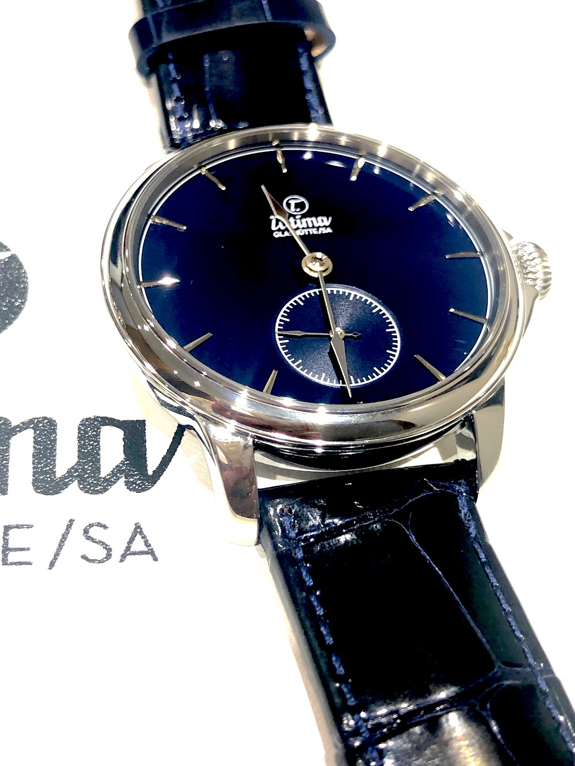 Tutima Patria Admiral Blue watch