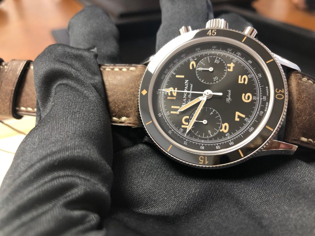 Blancpain's newest Air Command Flyback.