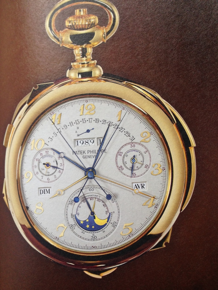 The Caliber 89 - unveiled by Patek Philippe in 1989 for the 150th anniversary