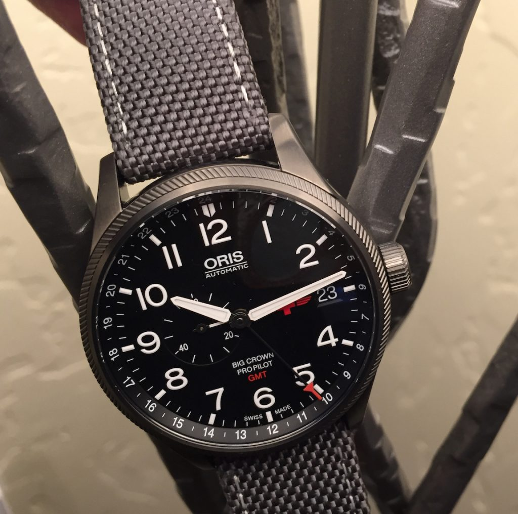 Oris Rega Limited Edition Big Crown ProPilot GMT watch
