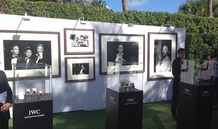 IWC showcases Peter Lindbergh photos taken in Portofino