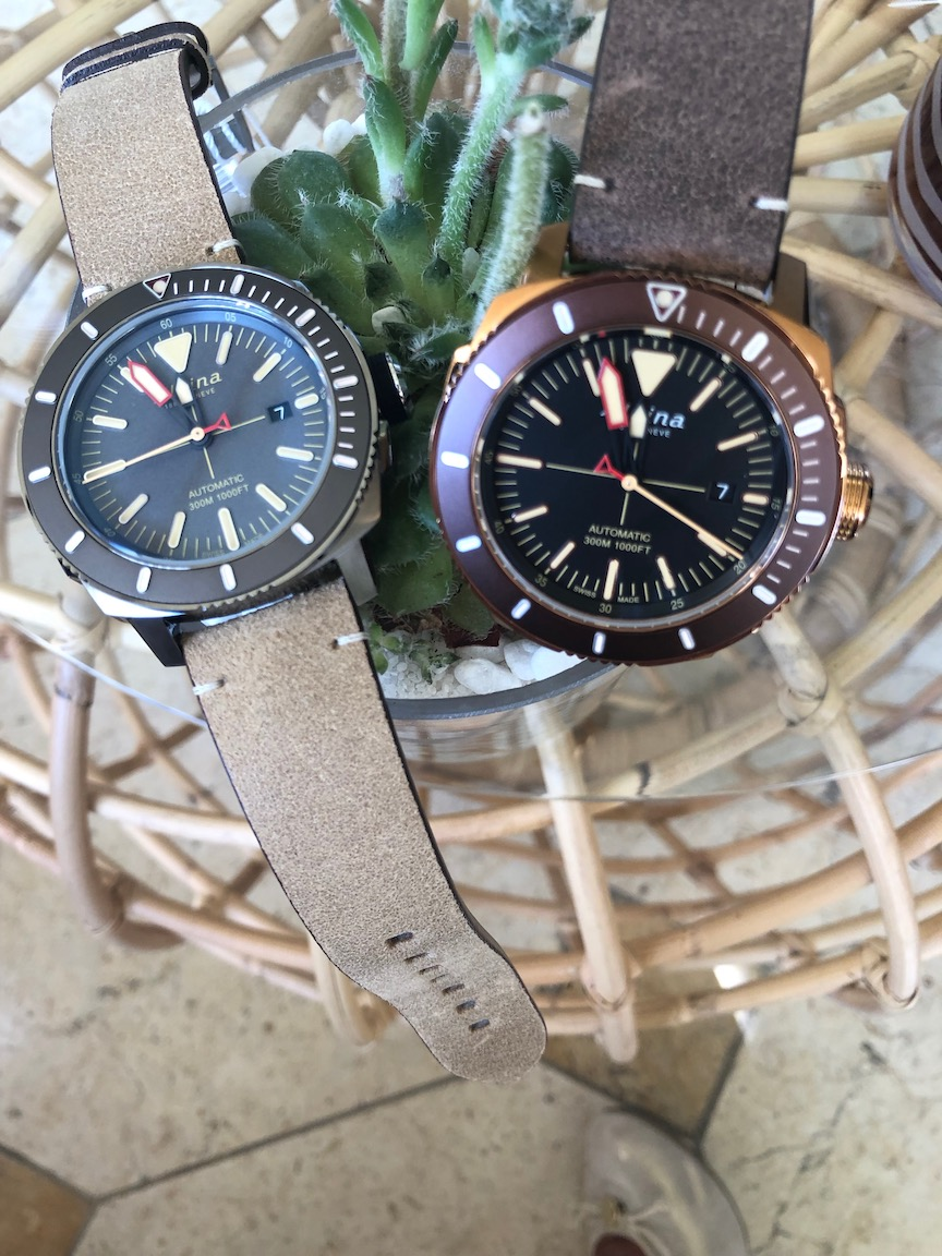Alpina dive watches, CoutureTime 2019