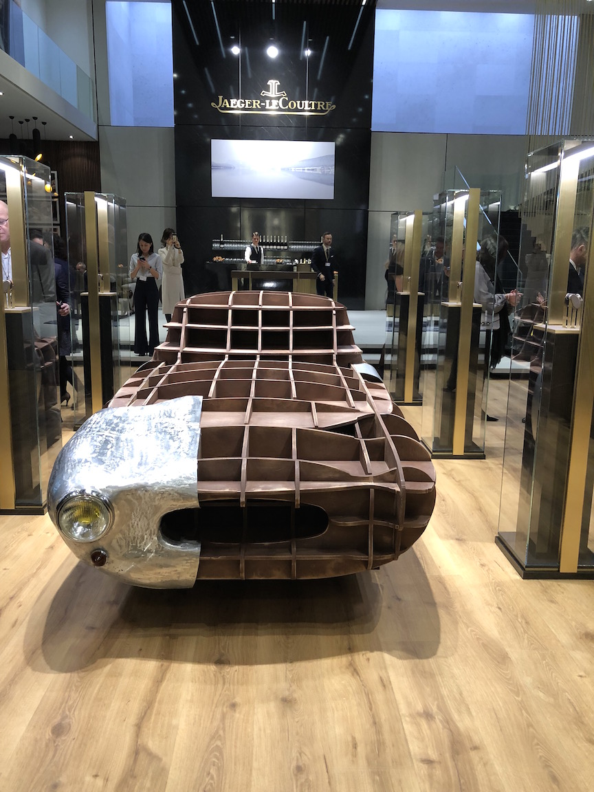 """Jaeger-LeCoultre took SIHH 2018 as an opportunity to showcase its new """"Made by Makers' theme"""