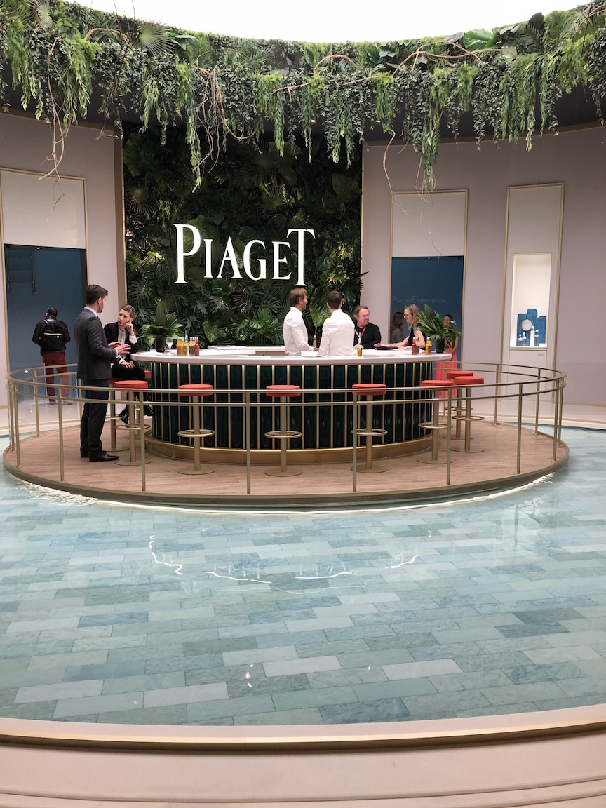 Piaget's exhibition space at SIHH 2018