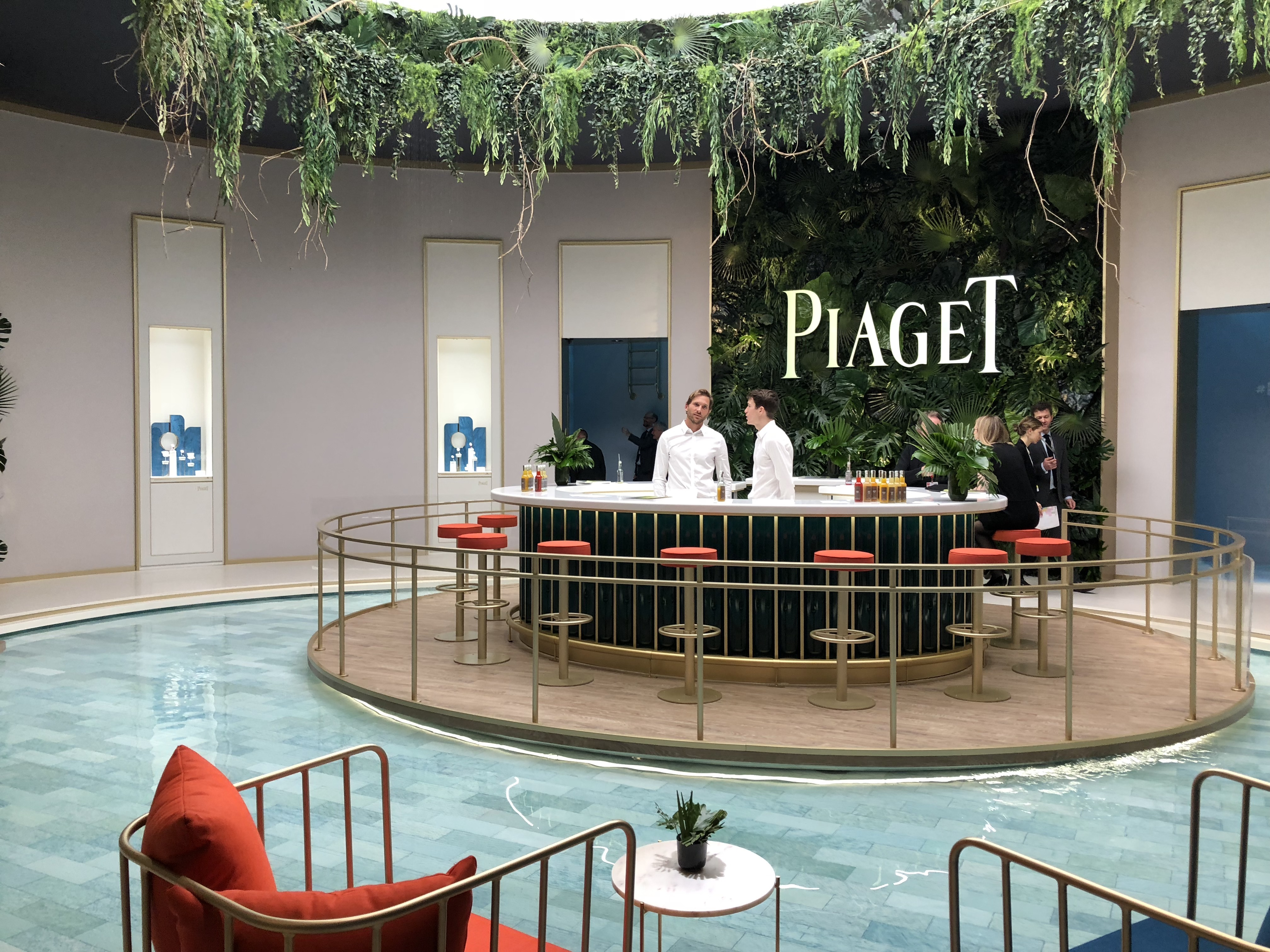 Piaget exhibition space at SIHH 2018