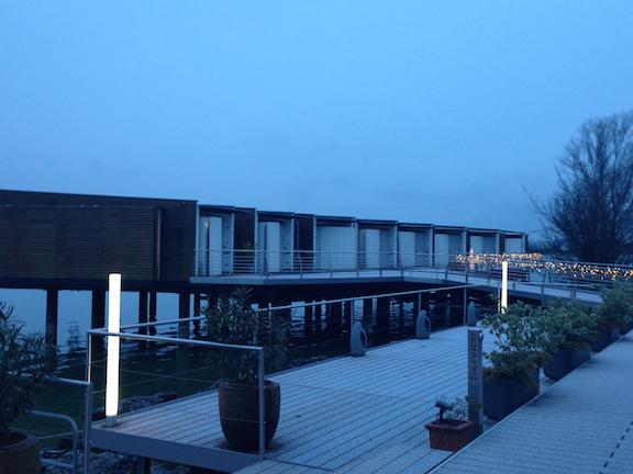 Hotel Palafitte on Lake Neuchatel