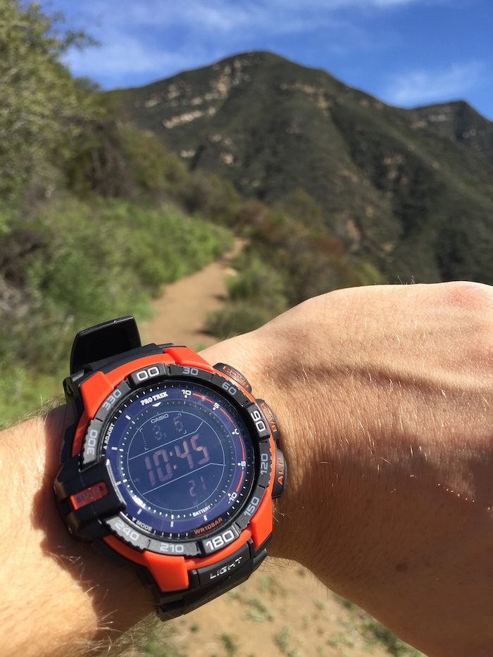 On the trail with the ProTrek Tough Solar PRG270-4