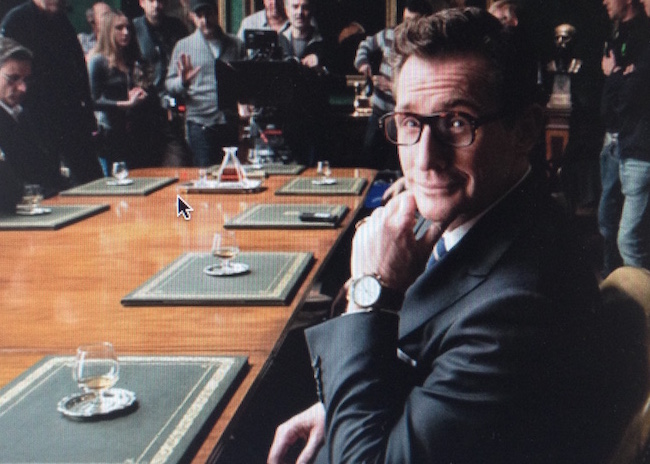 Nick English, Bremont co-founder, has a cameo role in the Kingsman  movie