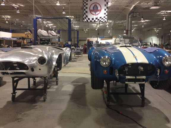 Inside Shelby Cobra LLC in Las Vegas with Baume & Mercier