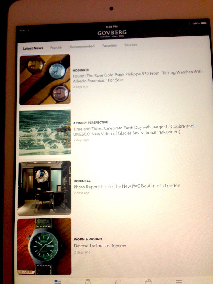 ATimelyPerspective is one of the leading media resources portraying real-time articles on the  Govberg OnTime app.