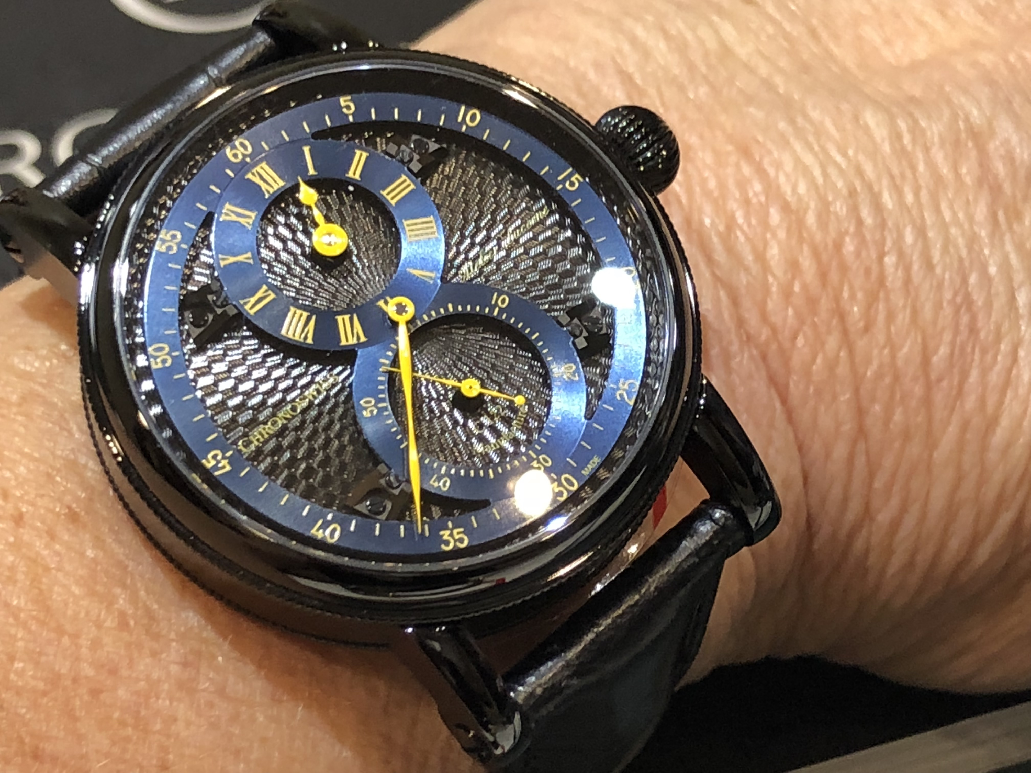 Chronoswiss Flying Regulator Open Gear watch