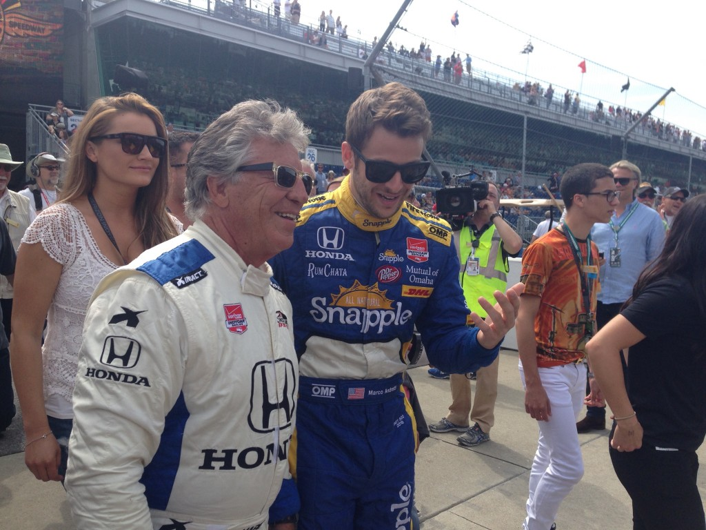 Mario and Marco Andretti