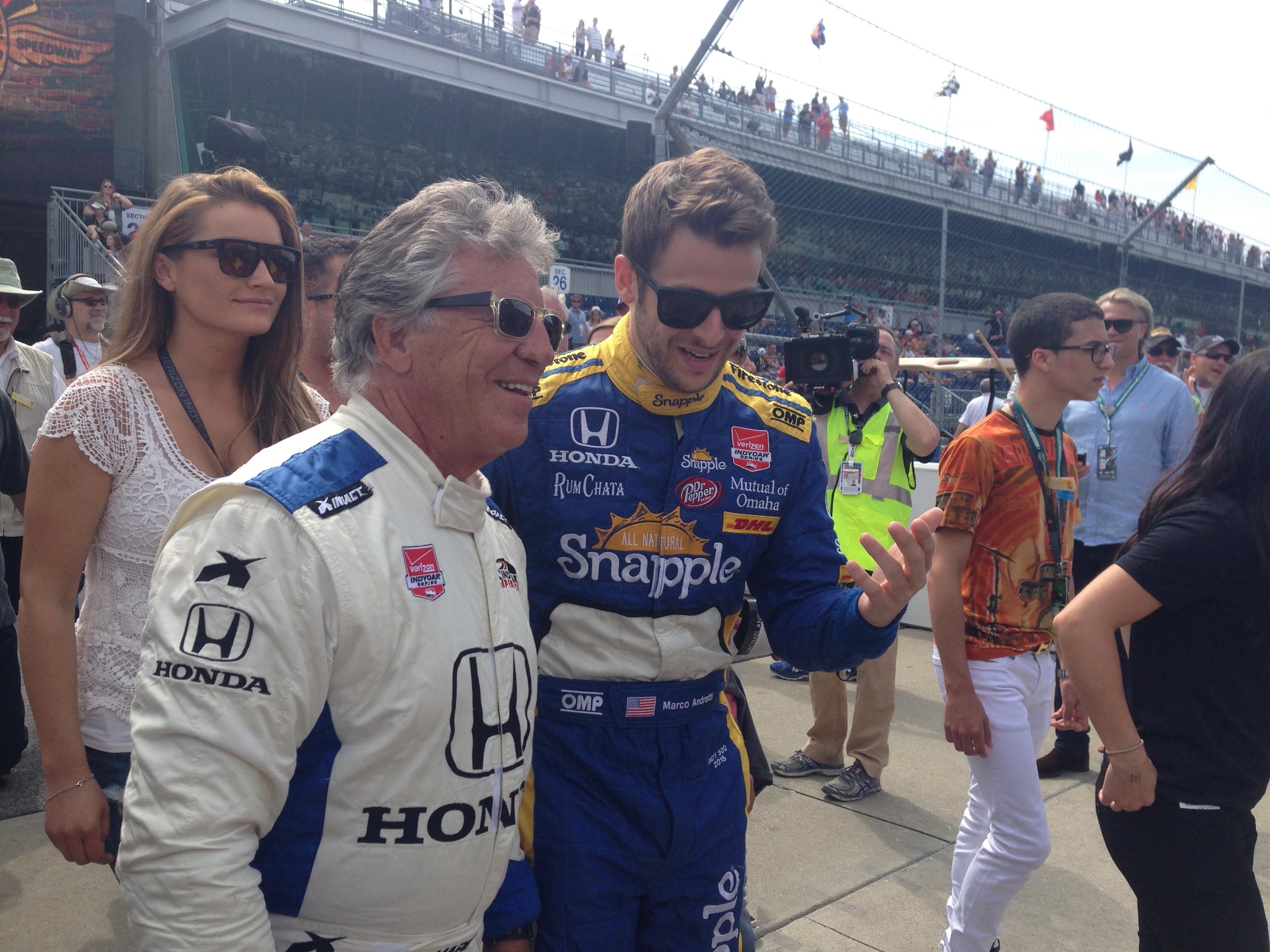 Mario and Marco Andretti