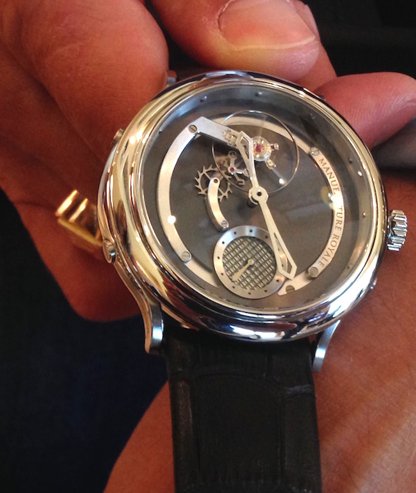 The stainless steel version retails for $33,000- Manufacture Royale's new opening price point