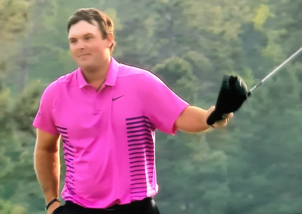 American golfer, 27-year-old Patrick Reed, also a Hublot brand ambassador, wins the Masters.