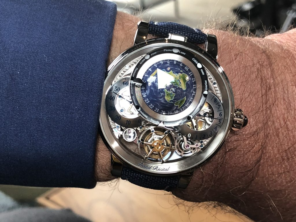Bovet Récital 22 Grand Récital 9-day Flying Tourbillon Tellurium-Orrery and Retrograde Perpetual Calendar