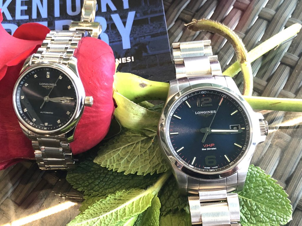 Longines Official Watches of the Kentucky Derby 2018. (Photo: R. Naas)