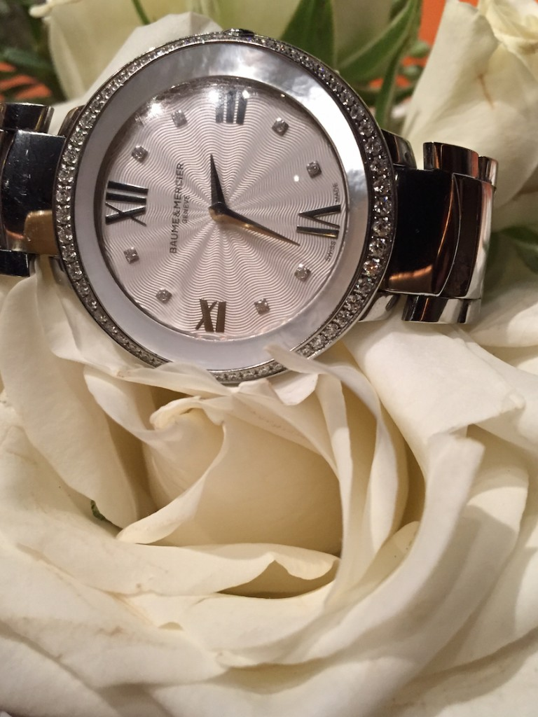 Baume & Mercier Promesse with mother-of-pearl bezel (Photo: R. Naas)