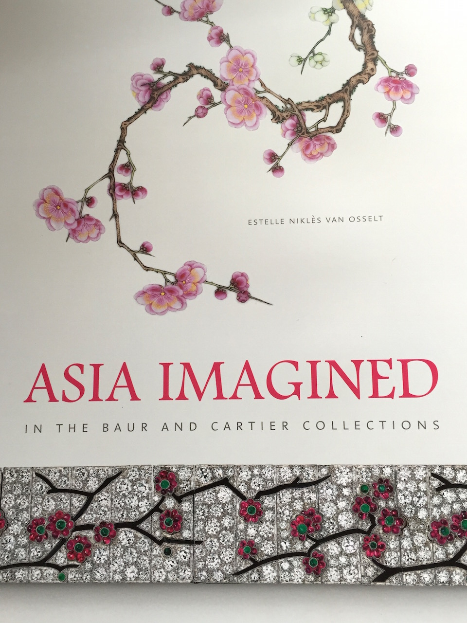 The cover of the new Cartier, Asia Imagined, book