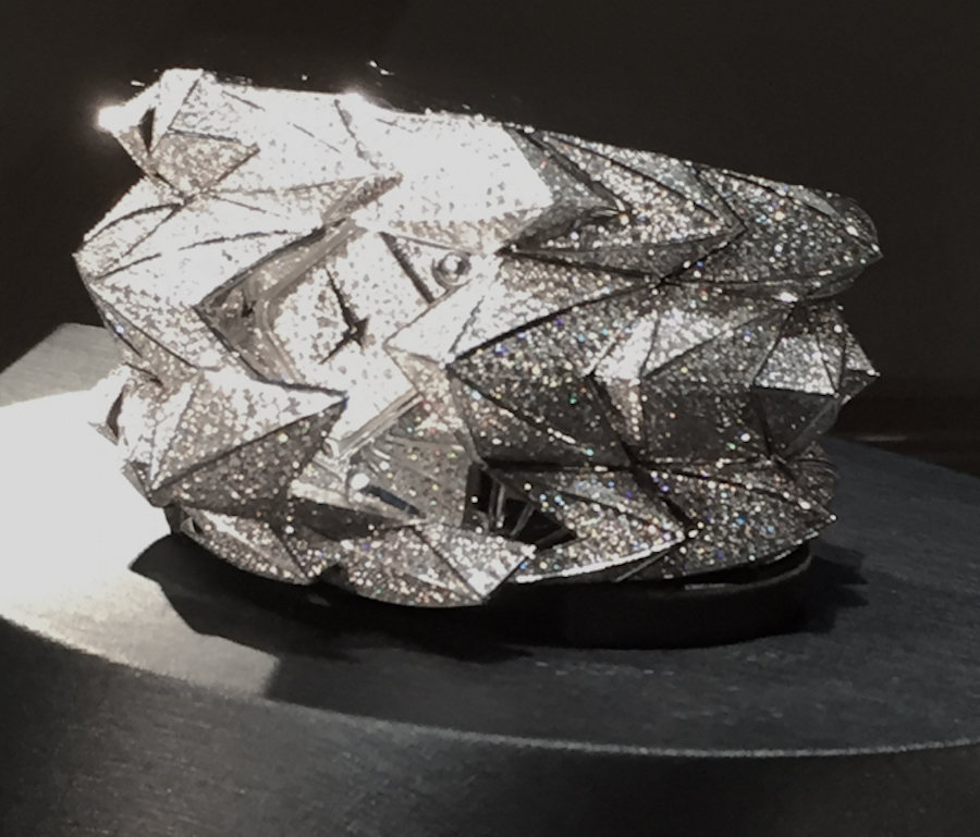 The all diamond fury weighs more than 25 carats in diamonds
