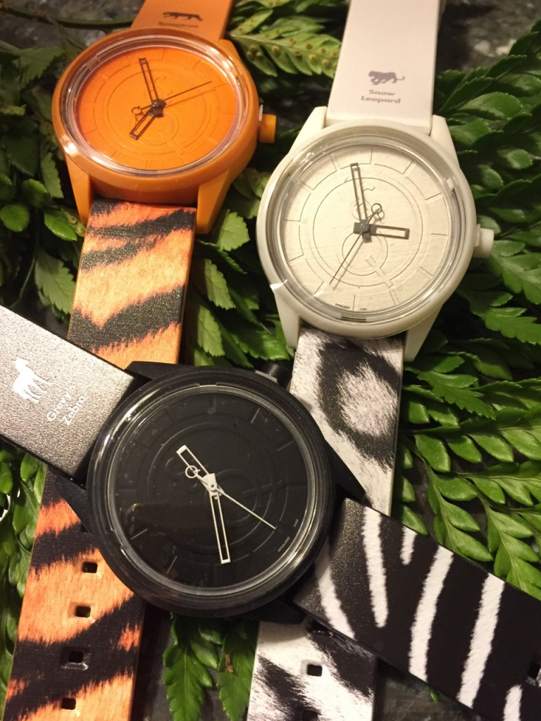 Q&Q Solar Powered watches celebrate endangered species. (Photo: R. Naas/ATimelyPerspective)