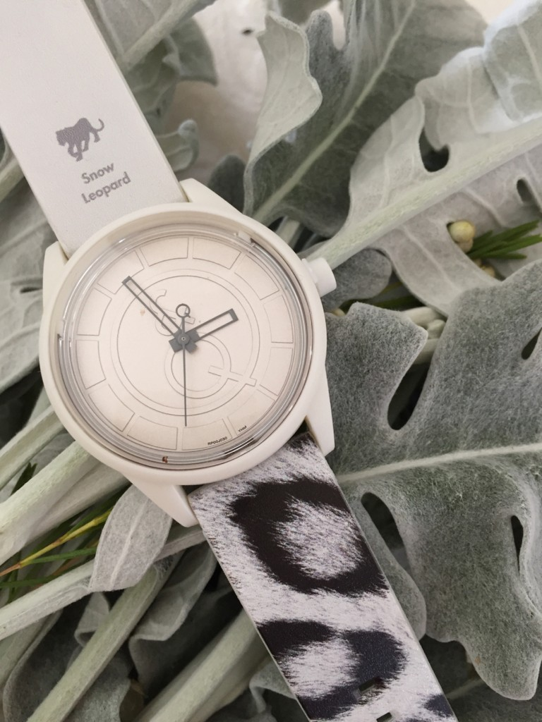 For each watch sold, a portion of the proceeds will be donated to the International Union for Conservation of Nature (IUCN) a global organization comprised of national, governmental, and non-governmental agencies for protecting nature