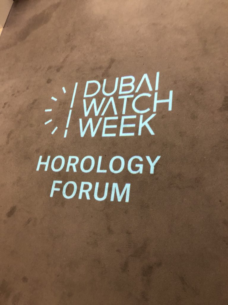 Dubai Watch Week, Christie's Horology Forum