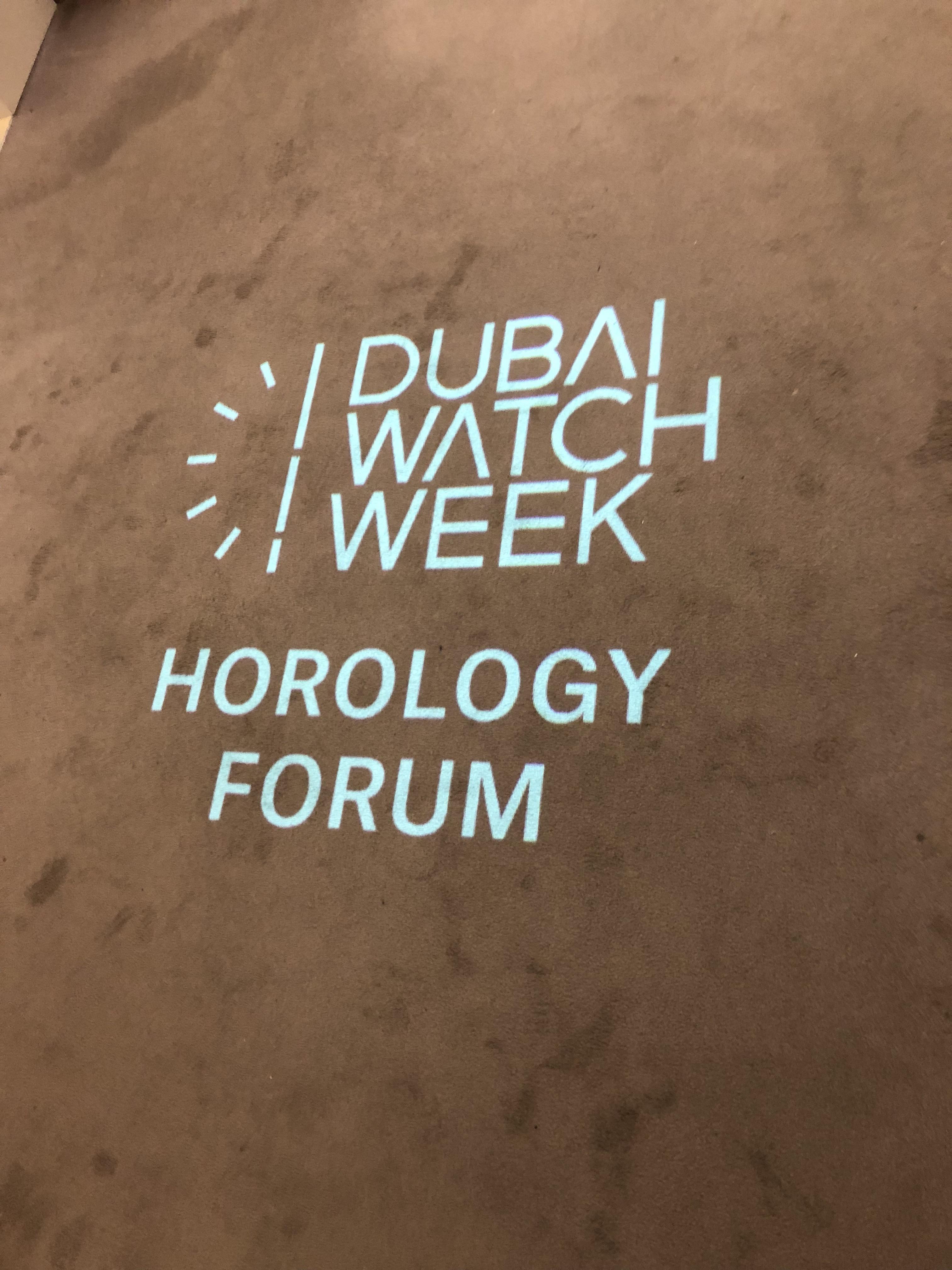 Dubai Watch Week, Christie's Horology Forum