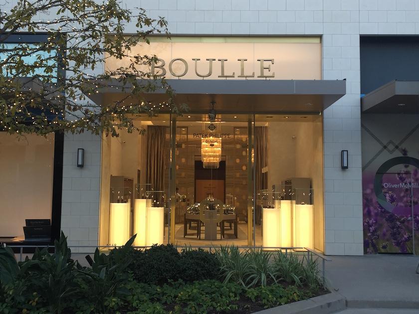 deBoulle Opens Patek Philippe boutique in Houston