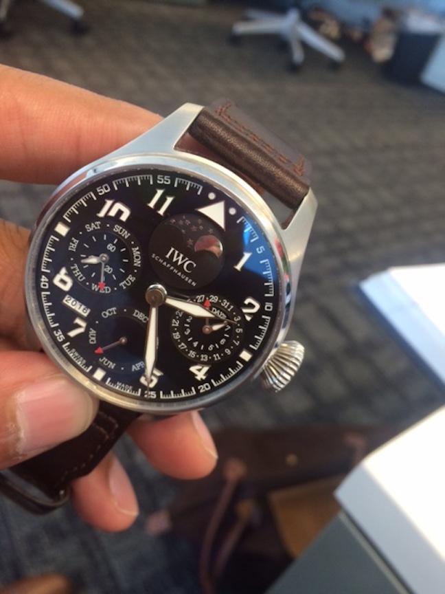 IWC Big Pilot's Watch Perpetual Calendar Edition 'Antoine De Saint Exupery