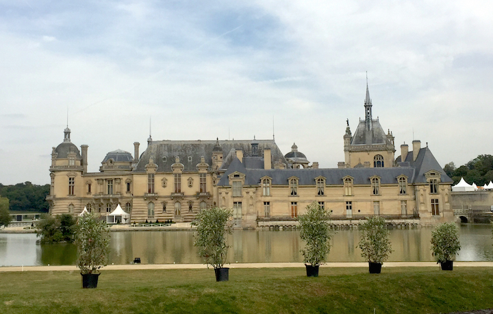 Domaine de Chantilly Chateau where the Chantilly Arts & Elegance Richard Mille event is held.