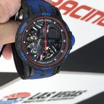 Roger Dubuis Aventador S at the track
