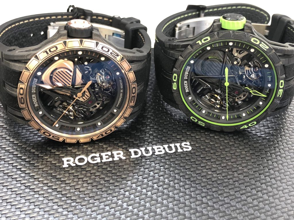 Roger Dubuis Aventador S watches (Photo: R. Naas)