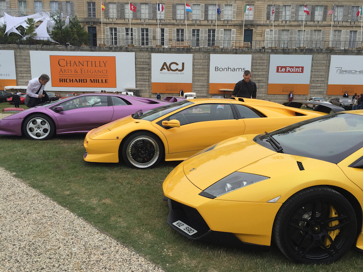 Concept and rare cars at Chantilly Arts & Elegance Richard Mille.