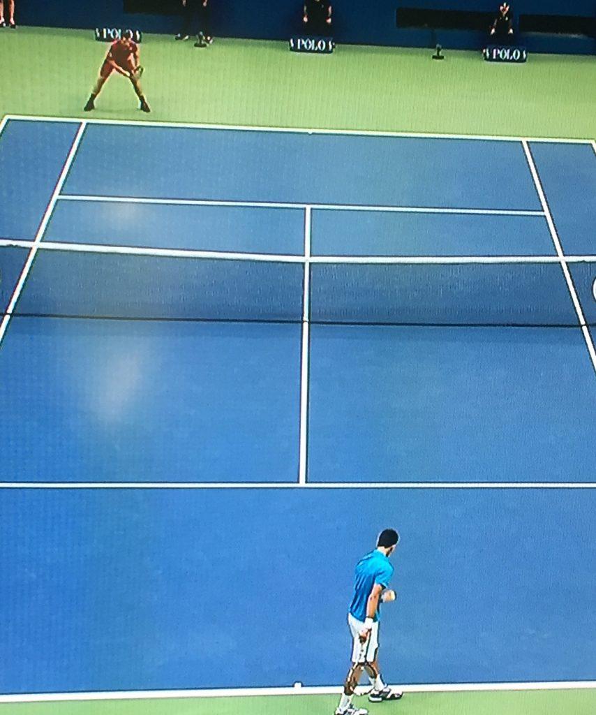 Wawrinka plays Djokovic at the US Open tonight, with Wawrinka claiming the victory.